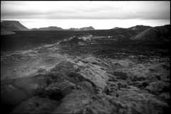Getting Away of Mordor (daniloz) Tags: leica bw film rollei iceland islandia foto pb infrared filme infravermelho leicam3 rolleiir400 daniloz