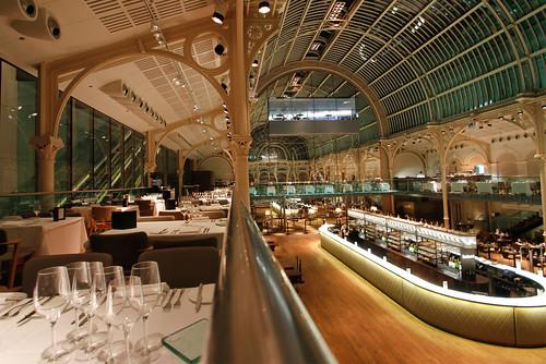 Paul Hamlyn Hall Balconies Restaurant Royal Opera House