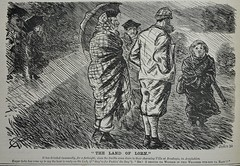 Drizzle's not rain! - Punch 1878 (AndyBrii) Tags: old london magazine antique cartoon books humour irony punch wit rare engravings