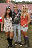 Katie Dowling, Bob Lee and Liz Breen at Casa Bacardi at Electric Picnic