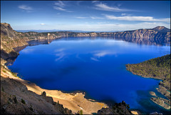Crater Lake National Park - Oregon (helikesto-rec) Tags: lake oregon nationalpark craterlake craterlakenationalpark
