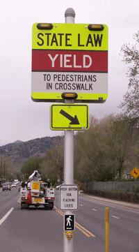 Photo - Pedestrian Crosswalk