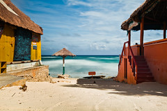 QUIET TIME (Rober1000x) Tags: longexposure beach mexico yucatan cozumel 2012 mezcalitos