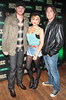 Eric Paslay,Casey smith and Pj Smhal at the Jameson Launch Party for the Hot Press Yearbook 2012 at The Workman's Club,Dublin..Picture Brian McEvoy