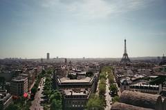 (Alex A Jones) Tags: street city travel urban paris france film 35mm landscape photography fuji gr1s ricoh