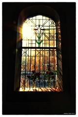 Chapel-Window (Vlachbild) Tags: germany europe chapel daily trier pfalzel churchwindow rhinelandpalatinate marienkapelle sonyslta65 walimex14mmf28