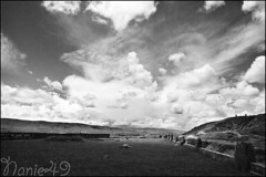 Tiwanaku2, Bolivia. (nanie49) Tags: inca clouds nikon bolivia f100 andes hp5 nuages altiplano bolivie tiwanaku nuves cordillre