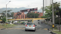 Driving in Medellin Photo