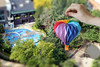 Origami Balloon Ride In Miniature Park :-)