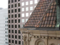 Rooftop and Windows (shaire productions) Tags: city roof urban abstract building rooftop photography photo exterior image shapes structure photograph elements abstraction shape imagery