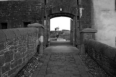 Drawbridge BW (Little Boffin (PeterEdin)) Tags: old blackandwhite bw white black slr castle monochrome canon buildings eos rebel grey coast scotland town blackwhite ancient gate alba broughtyferry dundee fort citadel oldbuildings historic coastal drawbridge dslr fortification chateau towns stronghold fortress canoneos tayside singlelensreflex blackandwhitephotography ecosse blackwhitephotography historicbuildings ancientbuildings broughtycastle dunde 400d rebelxti canoneos400d canonrebelxti canon400d digitalsinglelensreflex bruachtatha brochtie dùndè