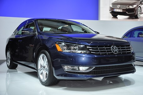 2012 Volkswagen Passat named Motor Trend Car of the Year