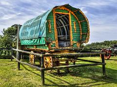 Caravan (Siâni D) Tags: greatbritain england english village britishisles exhibit hampshire historic traveller isleofwight gb british caravan gypsy hdr arreton arretonhistoricvillage