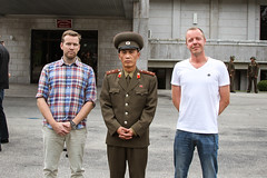 Panmunjom officer (axelivarsson) Tags: northkorea dprk kitc