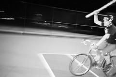 Donovan (joeball) Tags: seattle park bw film beer night 35mm fun wizard hill bicycles staff jefferson zipline thursday beacon bw400cn olympusinfinityjr point83 20120927 oij1