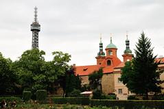Petn (J-Fish) Tags: tower europe prague unescoworldheritagesite unesco czechrepublic petn mirrormaze petnskrozhledna d300s 1685mmf3556gvr 1685mmvr