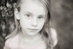 (darien maginn photography) Tags: portrait bw cute fall girl beautiful photoshop 50mm nikon child d600
