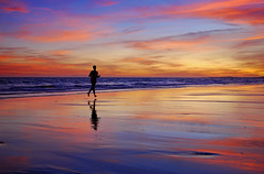 The perfect runner (Juampiter) Tags: reflexions