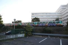 Paris trains 2012 (STEAM156) Tags: paris subway graffiti travels photos trains vandalism 2012 steam156 wwwaerosolplanetcom