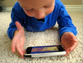 Smartphone as Child Toy