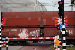 graffiti (wojofoto) Tags: afresh traingraffiti trein cargotrein cargotrain train amsterdam graffiti wojofoto nederland netherland holland wolfgangjosten