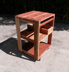 "Redwood Work Table • <a style=""font-size:0.8em;"" href=""https://www.flickr.com/photos/87478652@N08/8055854249/"" target=""_blank"">View on Flickr</a>"