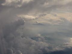 skies (meeeeeeeeeel) Tags: blue sky white clouds skies aeroplane céu dreaming fantasy nuvens what