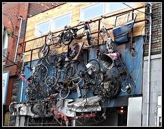 Re: cycle (navejo) Tags: toronto ontario canada sign facade bikes september cardoor recycle scrap queenstreet 2012 bovinesexclub navejo thankstosallyejhunter
