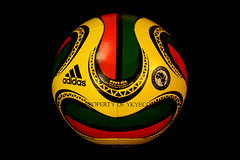 WAWA ABA MTN AFRICA CUP OF NATIONS CAF GHANA 2008 OFFICIAL ADIDAS MATCH BALL 01 (ykyeco) Tags: africa cup ball football official fussball top soccer ballon ghana mtn match aba bola adidas 2008 caf nations wawa pelota palla balon pallone    omb   of spielball
