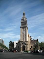 Paris - Eglise Saint-Pierre-de-Montrouge (Aelo de la Krotsche) Tags: paris starbucks avenuedugnralleclerc