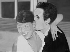 Alberto e Chiara -Olio su tela- cm 60x80  400  -2012