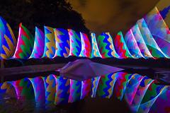 Double Weave II (Hugo Baptista) Tags: longexposure lightpainting playground nocturnal lp hugobaptista oddballgraphics