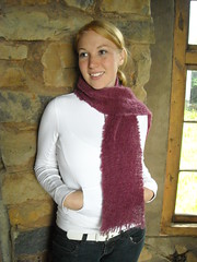 "4 mohair scarf in aubergine • <a style=""font-size:0.8em;"" href=""http://www.flickr.com/photos/10854591@N06/8068096346/"" target=""_blank"">View on Flickr</a>"