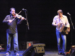 Faustus 06 (petereduk) Tags: cambridge england music concert folk gig livemusic band accordion junction violin fiddle trio faustus melodeon saulrose paulsartin faustusband faustusmusic