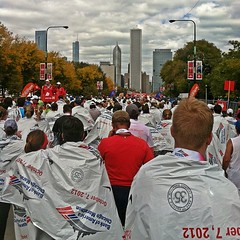 #ChiMarathon Finishers #MakeitCount (josephanthony2) Tags: square marathon squareformat chicagomarathon iphone makeitcount iphone4 cm12 iphonephotography iphoneography instagramapp uploaded:by=instagram chimarathon ownchicago chitechture runnerd