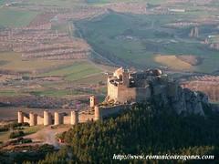 Medieval Abbey-Castle of Loarre, looking South, Aragon, Spain, built between XI-XIII century (mike catalonian) Tags: spain aragon xiiicentury xiicentury xicentury middleage medieval architecture abbey castle loarre