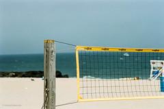 beach vollyball (mfauscette) Tags: 35mm fsc ishootfilm istillshootfilm kodak kodakportra400 nikon nikonf6 analog asburypark beach film filmisnotdead filmshooterscollective net ocean vollyball
