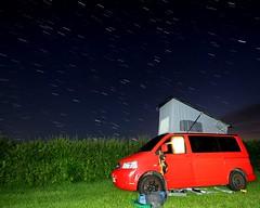Cosmic Flack (Time Grabber) Tags: timegrabber startrails lightpainting timedexposure camping vwcamper weoblycastle nightshot nightlight