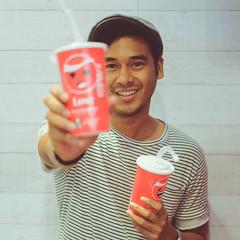 coca-cola emoticups at kfc (11 of 22) (Rodel Flordeliz) Tags: emoticups cocacola emoticons coke cokecollections cokecollectibles cocacolatrade ootd wiwt kfc kentuckyfridchicken