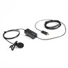Lavalier Lapel microphone (Eileenlin80826) Tags: black microphone adapter gopro hero3 white silver lavalier lapel clipon omnidirectional condenser movo