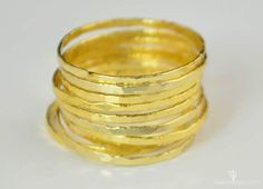 Golden Silver Super (alaridesign) Tags: golden silver super thin stacking rings these 12 each choose number you want from quantity pulldown affordable elegance sophistication with alari