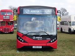 Arriva London ENR6 LK65 EKV (Glenn De Sousa) Tags: county bus london festival kent south east dartford arriva thameside 2016 showground detling ekv lk65 enr6