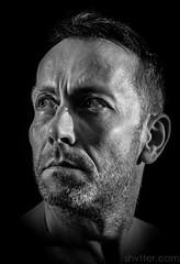 Self I (#Weybridge Photographer) Tags: studio adobe lightroom canon eos dslr slr 40d low key male man