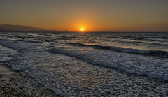 Sunset (shellyparente) Tags: sunset seascape landscape sea beach outdoor greece crete rethymnon summer waves sky