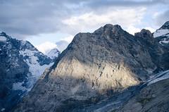 Cartoline dall'Alto Adige #4 (Pernin) Tags: mountains landscape alps ortles rock sun clouds ice ghiacciaio