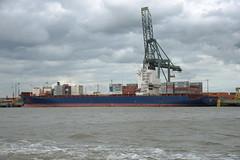 AS Morgana DST_7776 (larry_antwerp) Tags: asmorgana maersk psa europaterminal container 9456953 port        belgium belgi          schip ship vessel        schelde