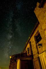 Tuscany Milky Way (macrobernd) Tags: milchstrase milky way nacht sterne himmel stars sky roccastrada italy italien night dunkel dark burg castle