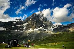 Monte Cervino / the Matterhorn 4,478m - Italy / Switzerland (Lior. L) Tags: montecervinothematterhorn4478mitalyswitzerland montecervino matterhorn italy switzerland cervino thematterhorn mountains mountain travel hiking nature sky clouds