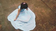 my immortal (Lady in Lilac) Tags: gtica immortal azul folhas cho flor