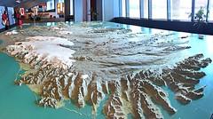 3D Map of Iceland (2) (AntyDiluvian) Tags: iceland reykjavik radhus rhs cityhall map model 3d threedimension threedimensional